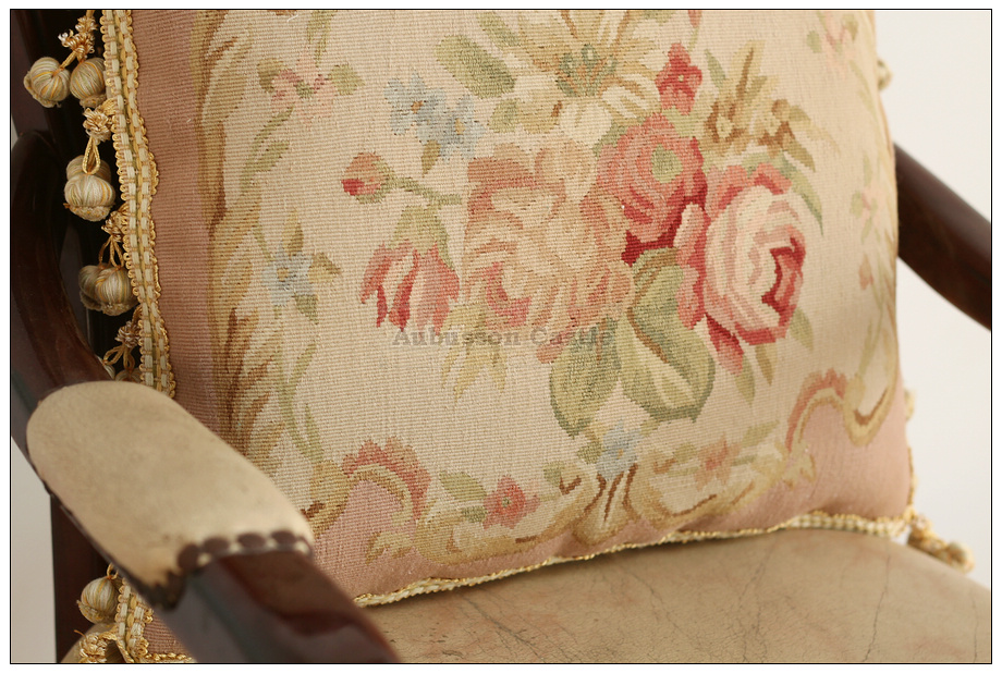 Simply Shabby Chic Chair Pads : A Pair PINK QUEEN Aubusson Pillow Shabby French Chic Rose Chair Bed Sofa Cushion eBay