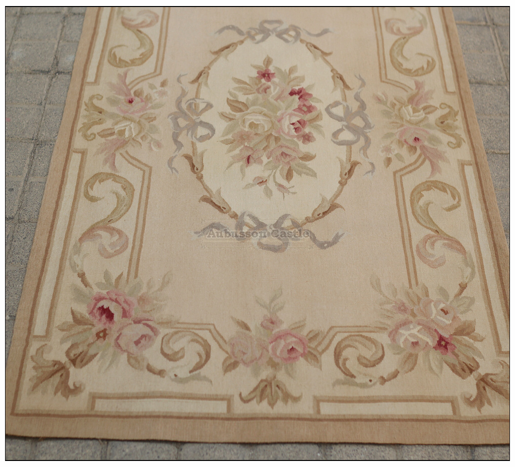ANTIQUE FRENCH PASTEL Wool