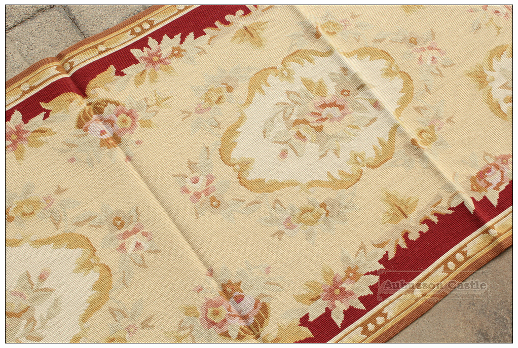 vintage french aubusson needlepoint area rug home decor cool carpet designs home decor