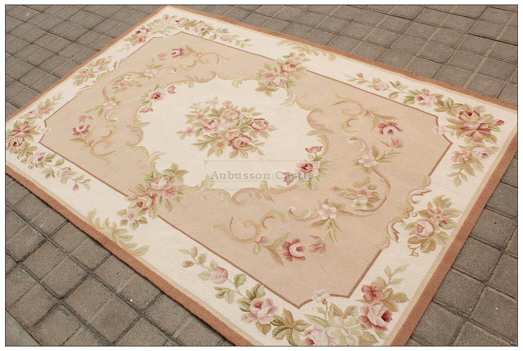 2 3 Quot X4 8 Antique French Style Aubusson Area Rug Mat Wool