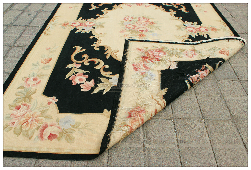 4x6 Aubusson Area Rug Shabby French Chic Home Decor Wool
