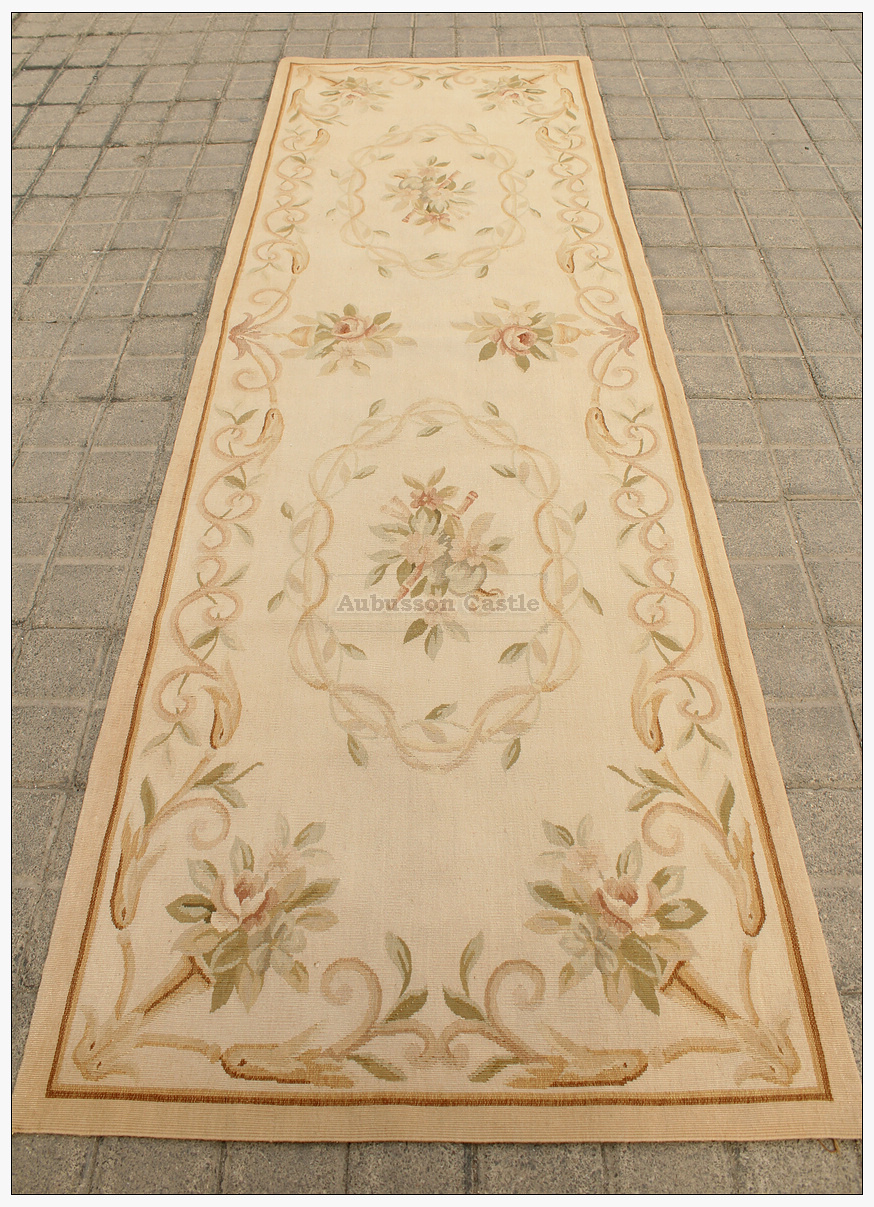 Aubusson Rug Runner Carpet 80x250cm